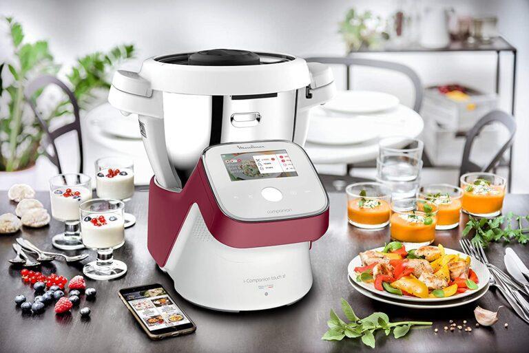 robot de cocina moulinex icompanion touch xl