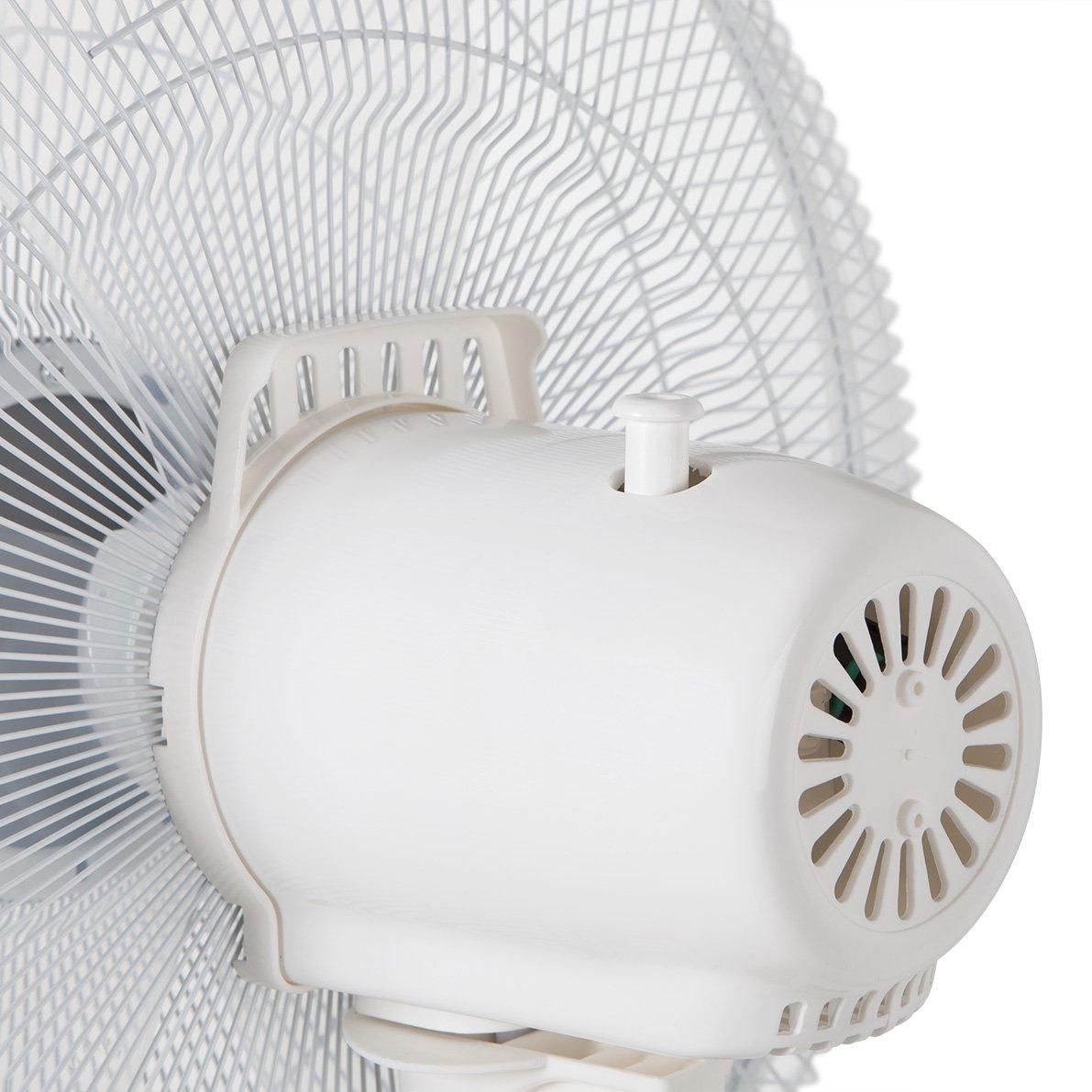Foto de la parte trasera del ventilador