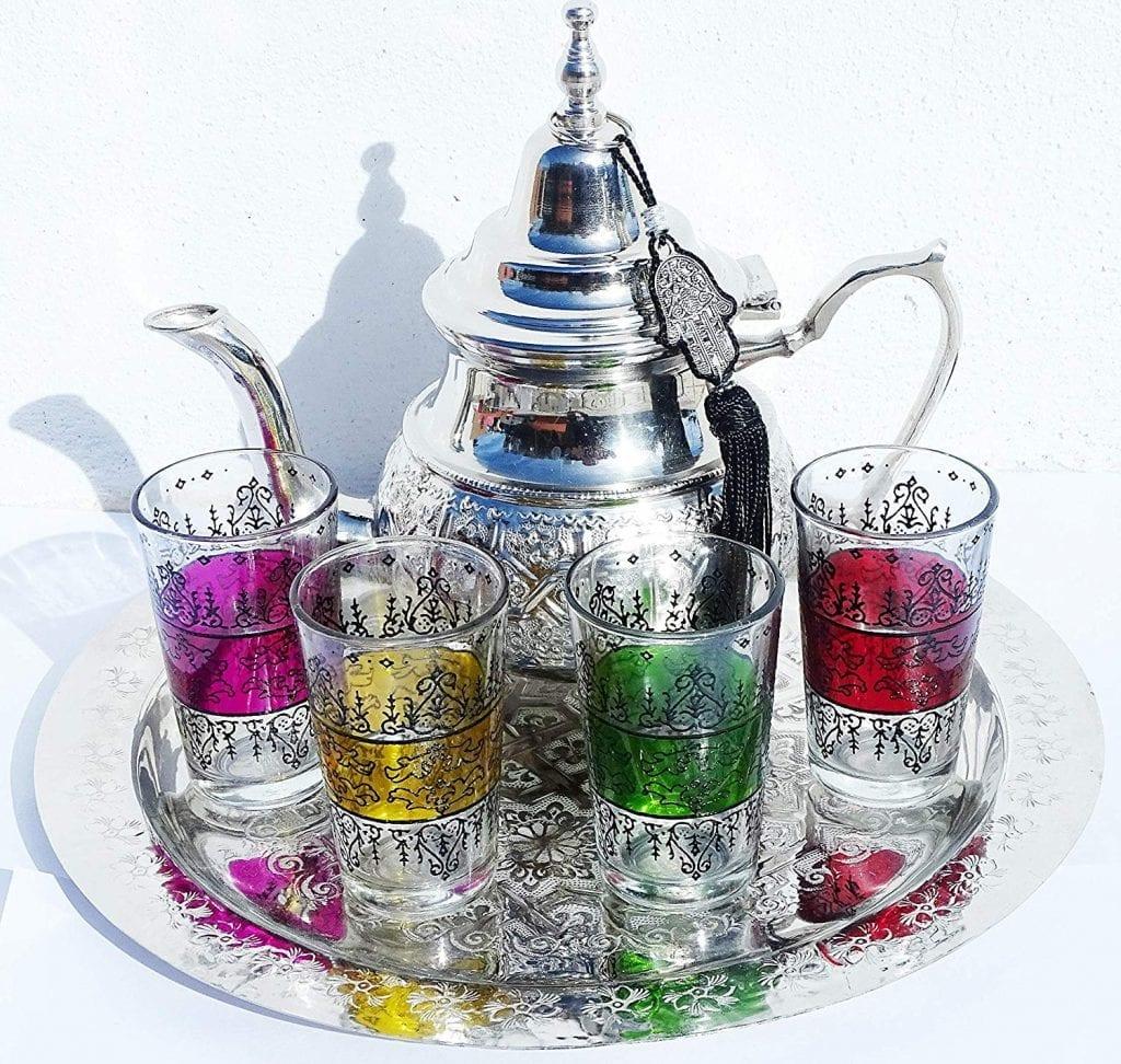 Juego de té tazas de te arabe marroqui
