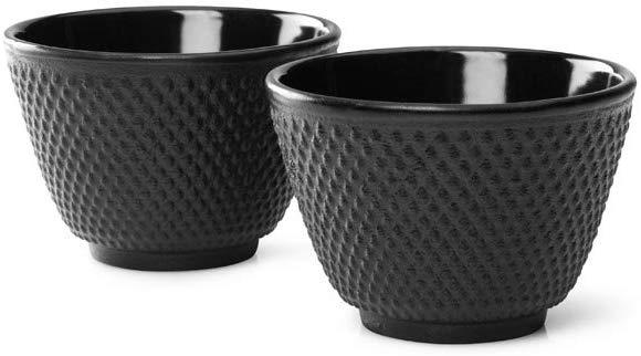 Taza japonesa para té color negro