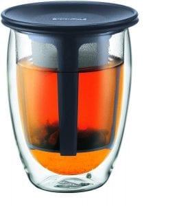 tetera de cristal Bodum K11153-01 tetera individual negro