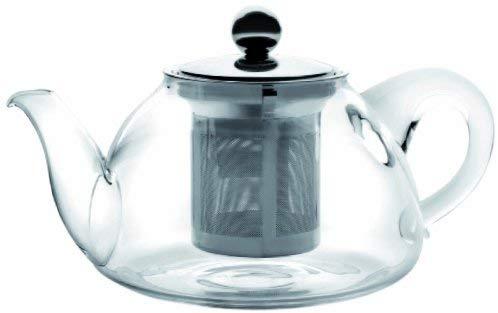 tetera de cristal Ibili 621704 tetera de cristal con filtro stove 400 ml