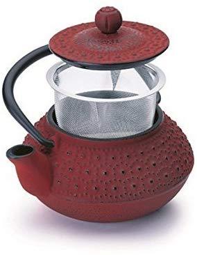 tetera de hierro Ibili Hanol, 0.3l rojo