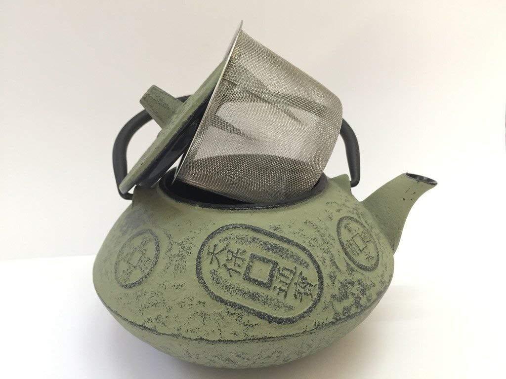 tetera hierro fundido el corte ingles japonesa de hierro con capacidad 0.8l y color crema para vetrocreámica