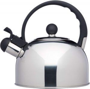 tetera inducción kitchencraft Le ´Xpress Hervidor de Agua con silbido apto para induccion hornillo 1.4 litros