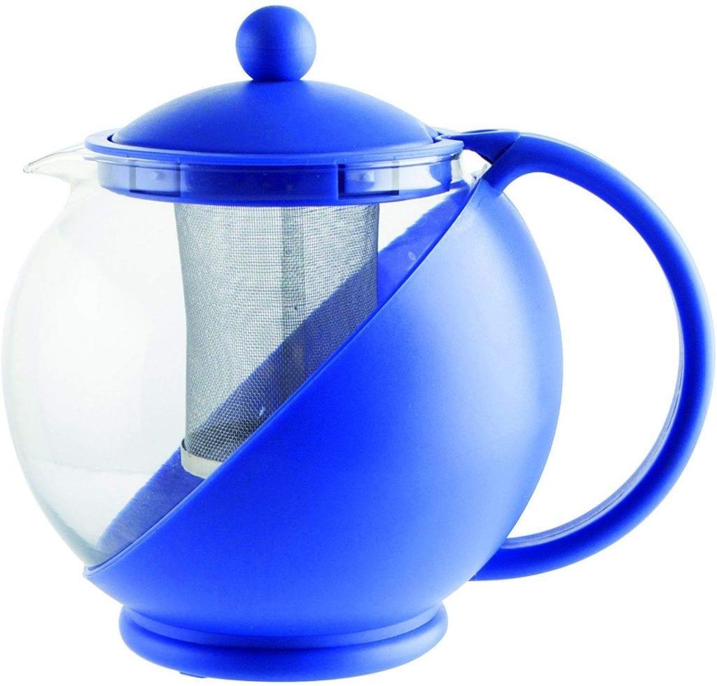 tetera quid mint tetera con filtro 1250 ml colr azul