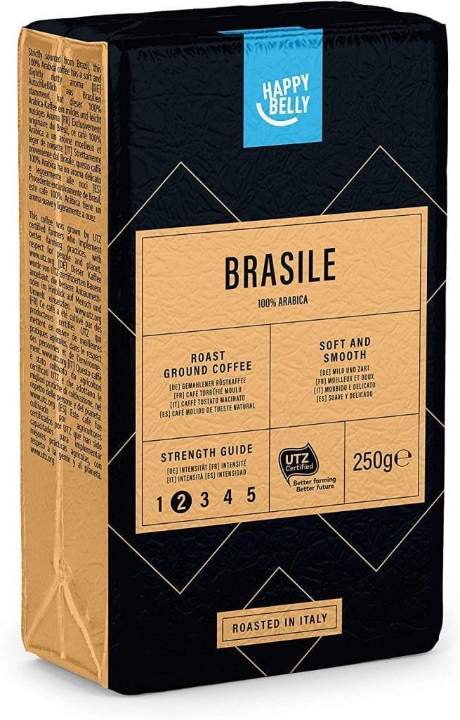 Cafe Brasileño para cafe cortado 4 x 250g
