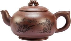 Tetera china hecha a mano