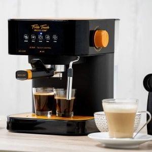 cafetera a presión espresso italiano