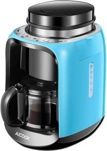 maquina de cafe moledora de granos de café