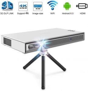 proyector portátil mini 4k