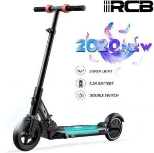 patinete eléctrico plegable ultra ligero rcb