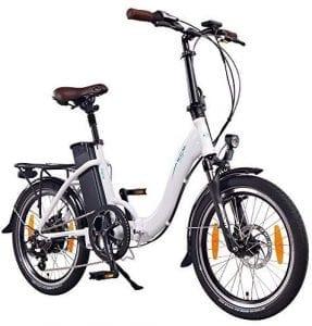 bicicleta eléctrica con acelerador