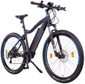 bicicleta eléctrica de montaña potente
