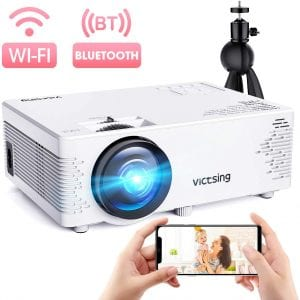 proyector para movil wifi y bluetooth