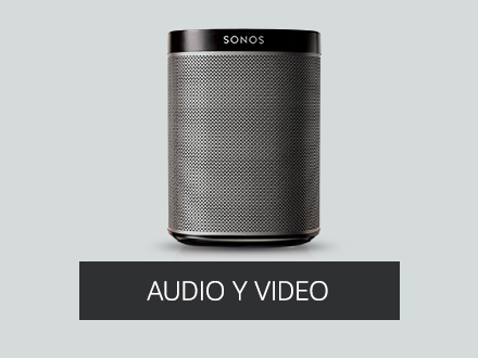 audio y video compatible con asitente con voz
