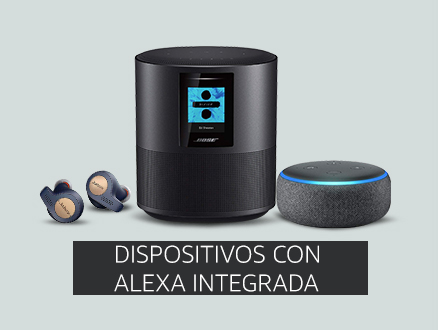 dispositivos inteligentes multimedia amazon alexa