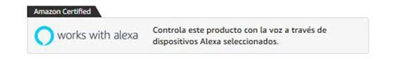 etiquetas vincular dispositivo con Alexa