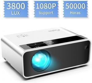 proyector barato portátil por menos de 100 euros
