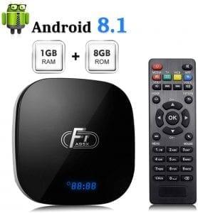 android tv box barato con mando