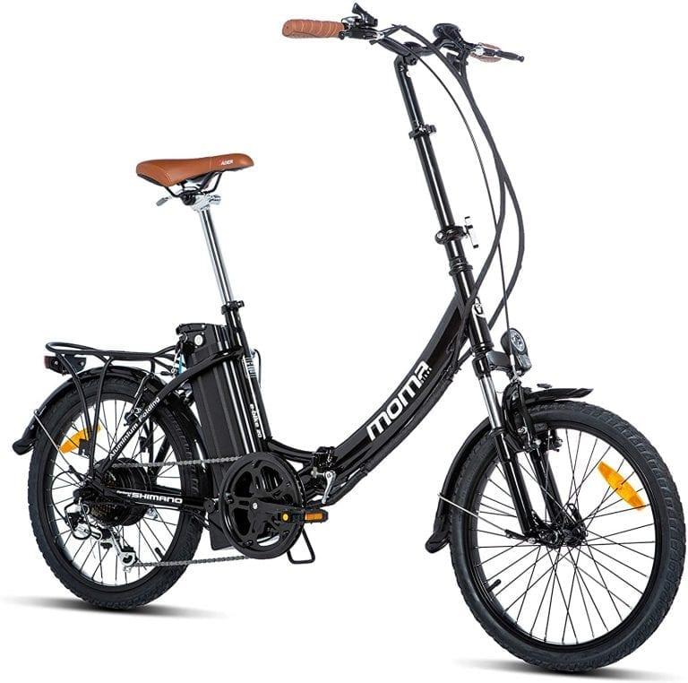 bicicleta eléctrica de gran autonomía 100 km