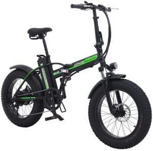 bicicleta electrica plegable de montaña 2020