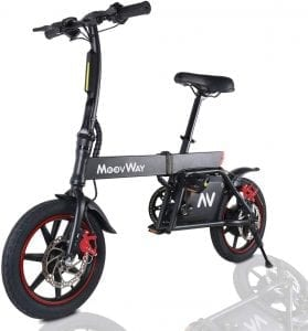 bicicleta electrica plegable potente