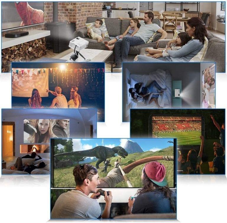 los mejores proyectores con pantalla precios y opiniones
