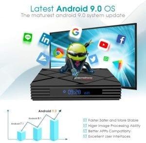 android 9.0 tv box pendoo x10 max opiniones