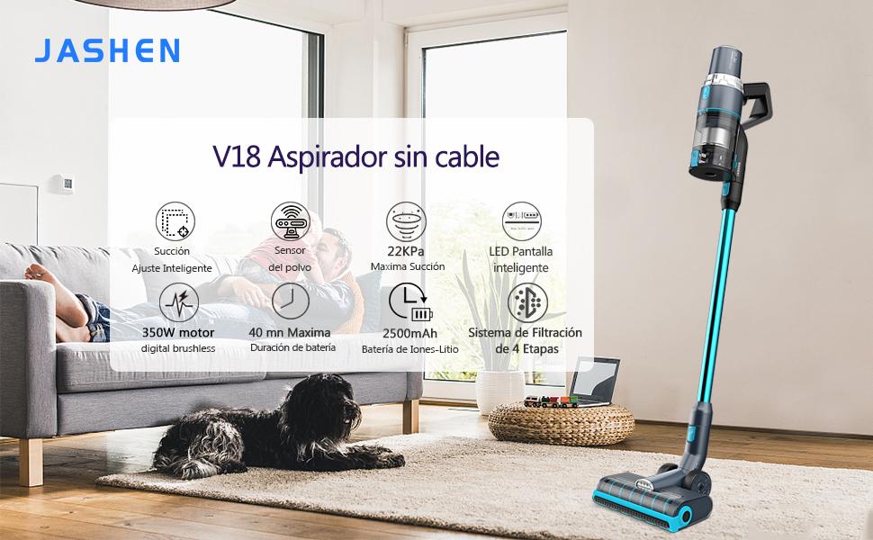 aspirador sin cable potente ideal para mascotas