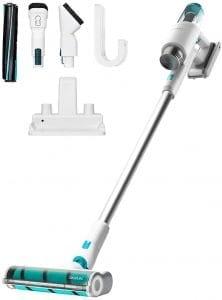 aspiradora vertical 3 en 1 con accesorios conga
