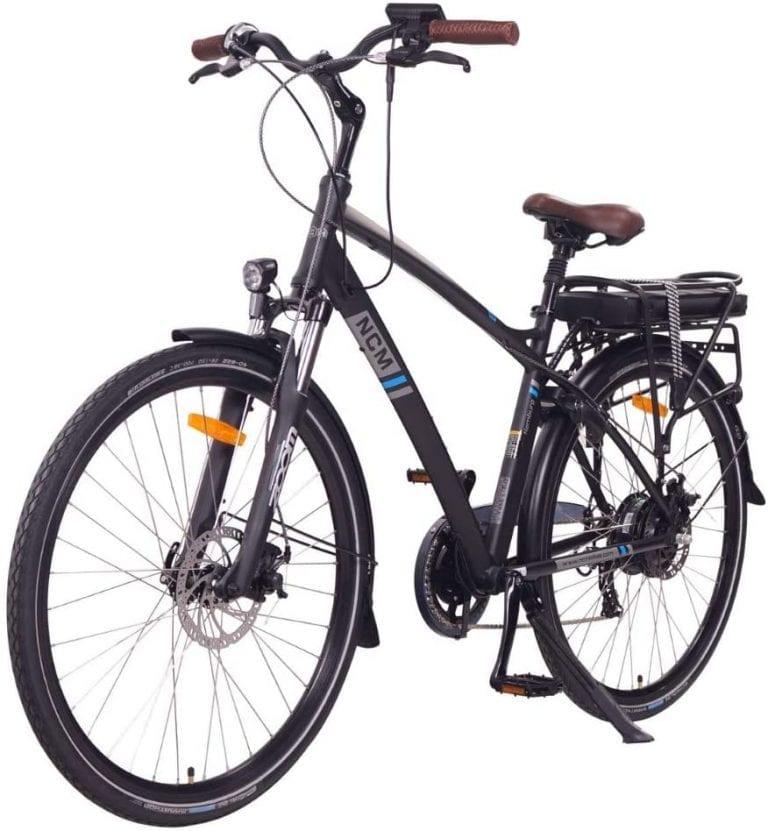 bici eléctrica trekking urbana ncm hamburg opiniones