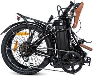 bici plegable eléctrica de paseo para la ciudad