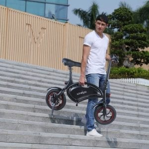 bicicleta eléctrica de paseo urbana