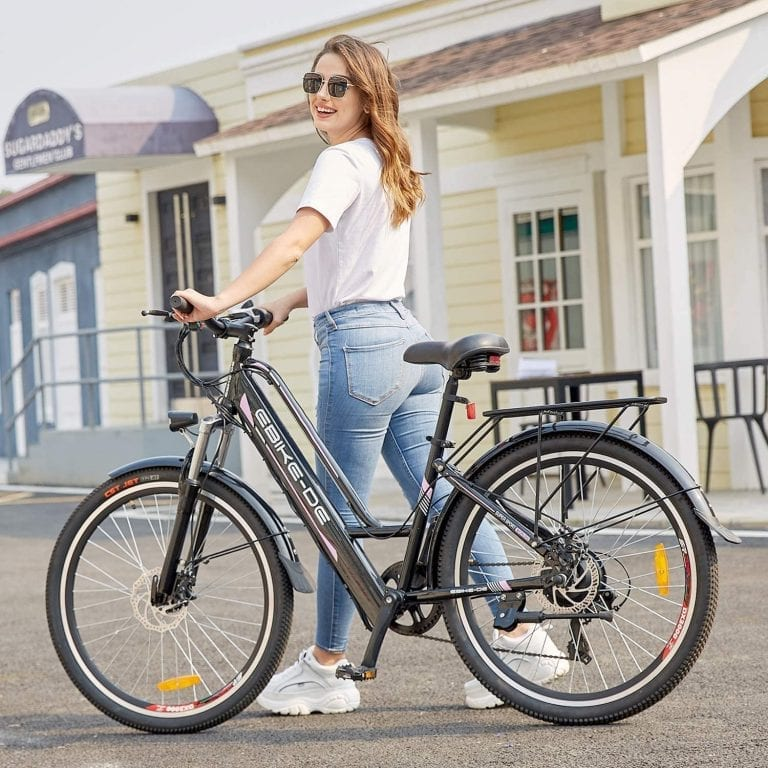 bicicleta eléctrica paseo ciudad opiniones