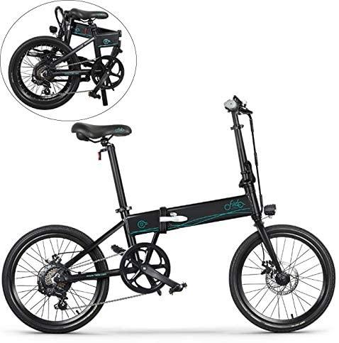bicicleta eléctrica plegable con gran autonomía