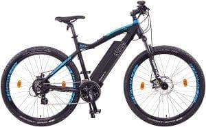 bicicleta eléctrica con mas autonomía ncm moscow plus
