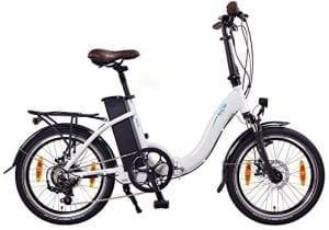 bicicleta eléctrica de paseo para ciudad con gran autonomia