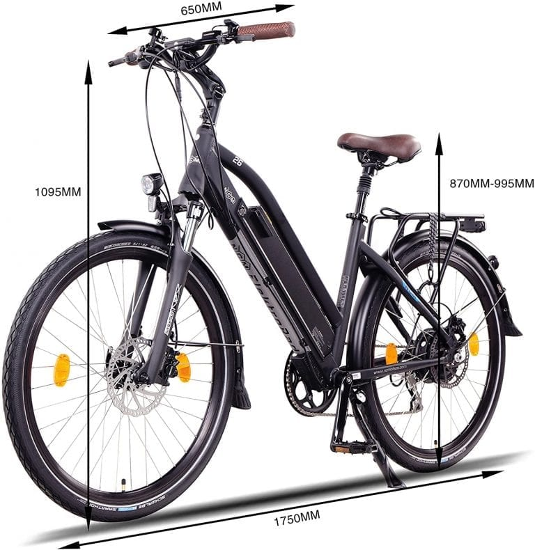 ncm milano plus bicicleta electrica para ciudad