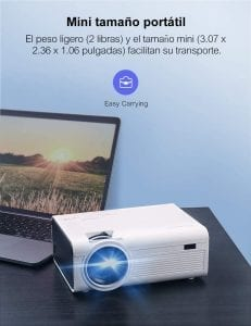 proyector portatil full hd crosstour p600