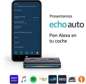 amazon echo auto vinculado al movil