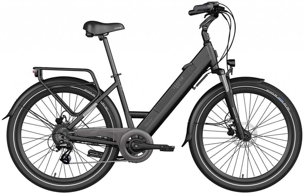 bicicleta eléctrica legend milano opinioes