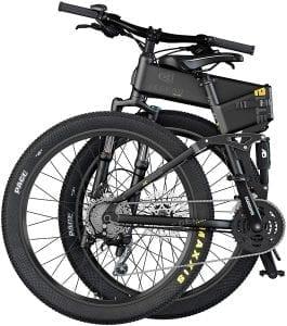 bicicleta eléctrica etna plegable