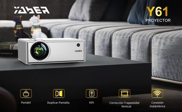 proyector con wifi yaber y61