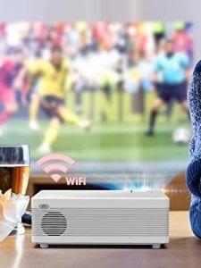 victsign proyector barato con wifi y bluetooth