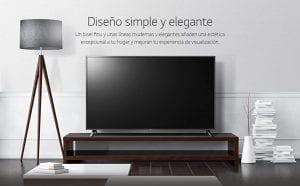 comparando la smart tv LG 4k UHD
