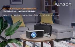 fangor mini proyector con luetooth opiniones