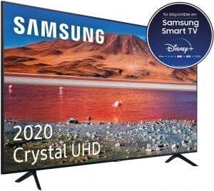 smart tv con wifi y procesador 4k