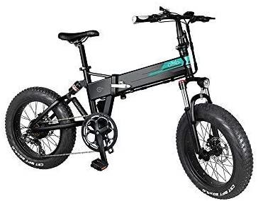 bicicleta eléctrica de montaña fat tire fiido