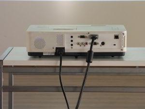 conectividad del proyector